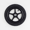"12"" Wheel w/ 2 Bearings for Mini Cart"