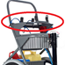 Aluminum Top Deck for Large Service Cart - 094-D