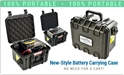 Battery Carrying Case for PV2100 / PV2500
