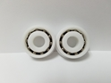 "**SET OF 2** Wheel Bearings for 20"" Large Service Cart Tire"